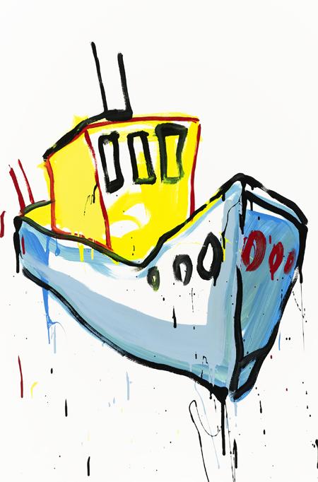 Small Tug Boat