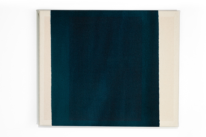 Untitled (Underlay blue-black)