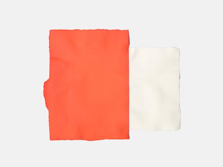 Fabriano Collage - masked (Orange)