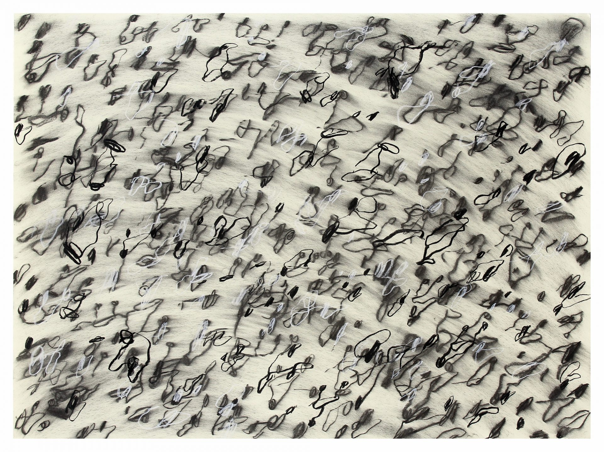 Matthew Bromhead is a finalist in this years AdelaidePerryDrawing Prize with his work Test Sheet