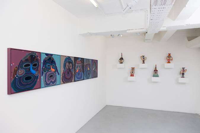 Beyond the Trail,  Installation View
