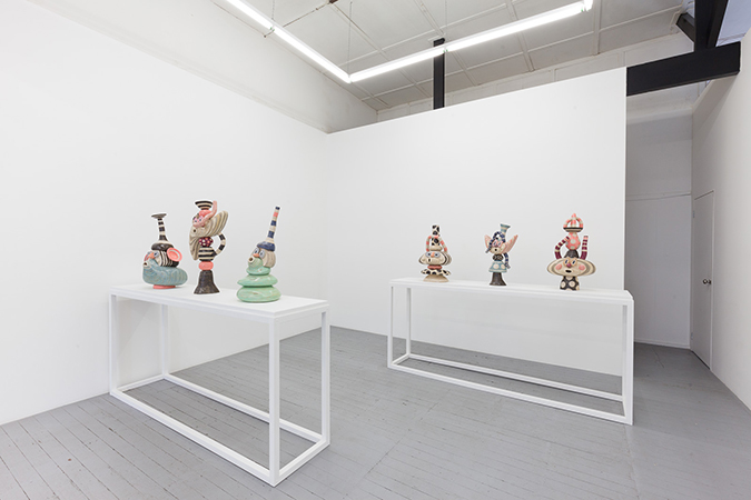 Somewhere Between Now,  Installation View