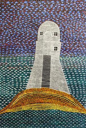 Jarman Lighthouse Sunset