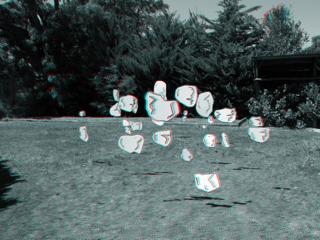 Meteor backyard