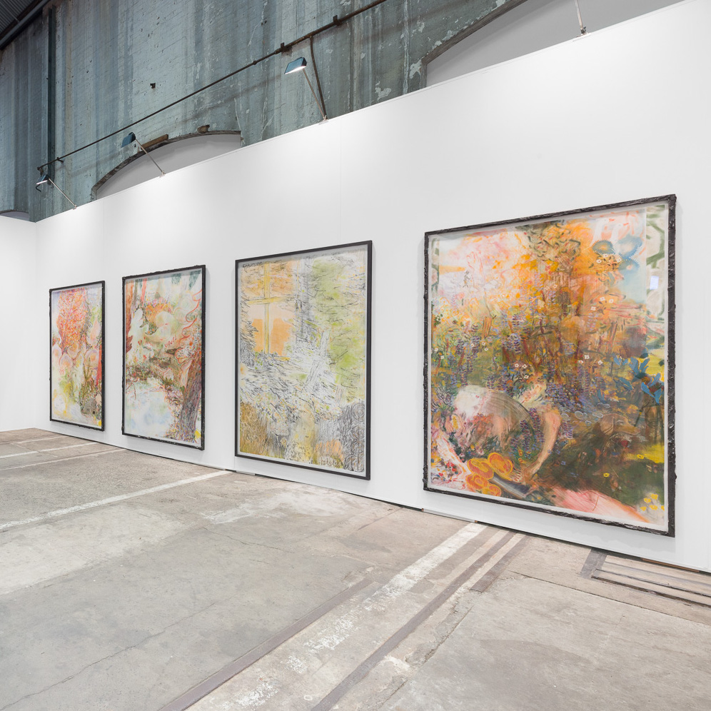 Nathan Hawkes works exhibited at Sydney Contemporary 2019, photogrpahy by DocQment