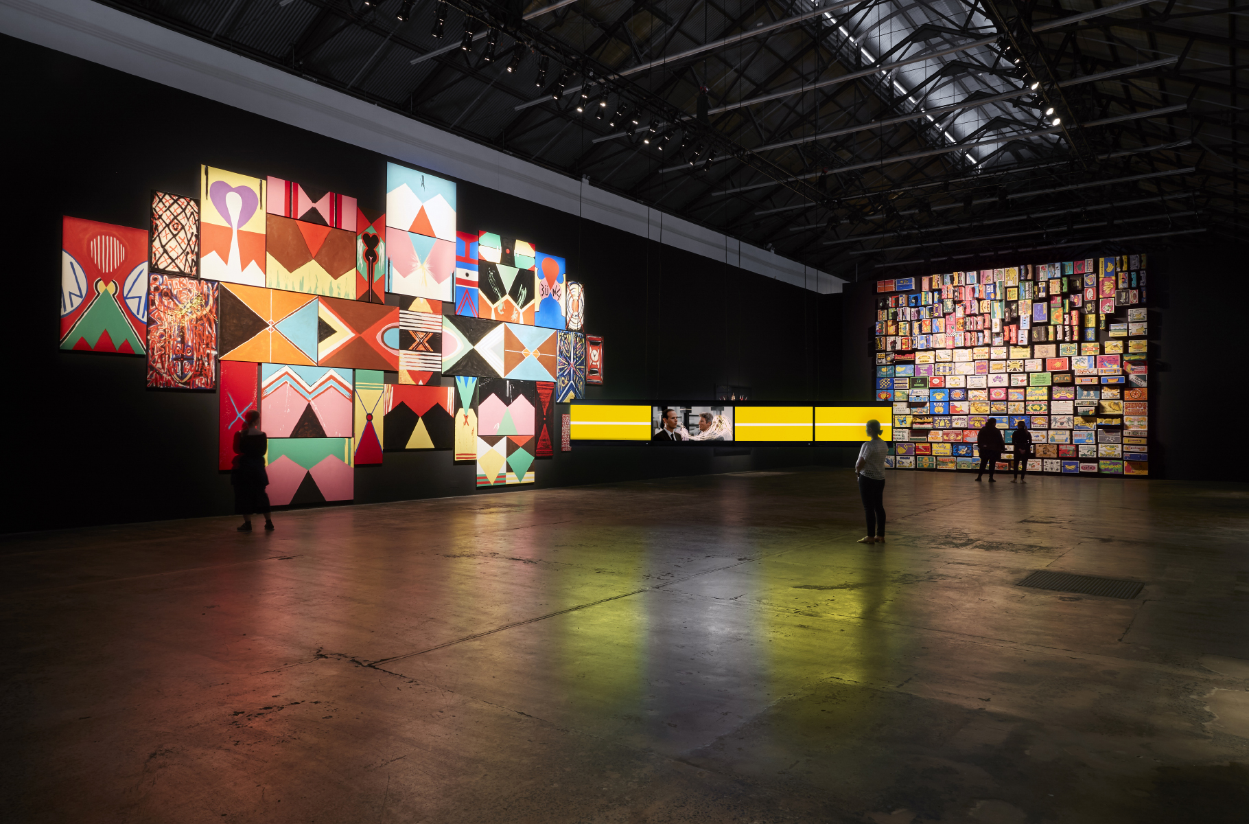 Coming Attractions (2017-2019), Exhibition view of 'The National' by Zan Wimberley, courtesy of Carriageworks