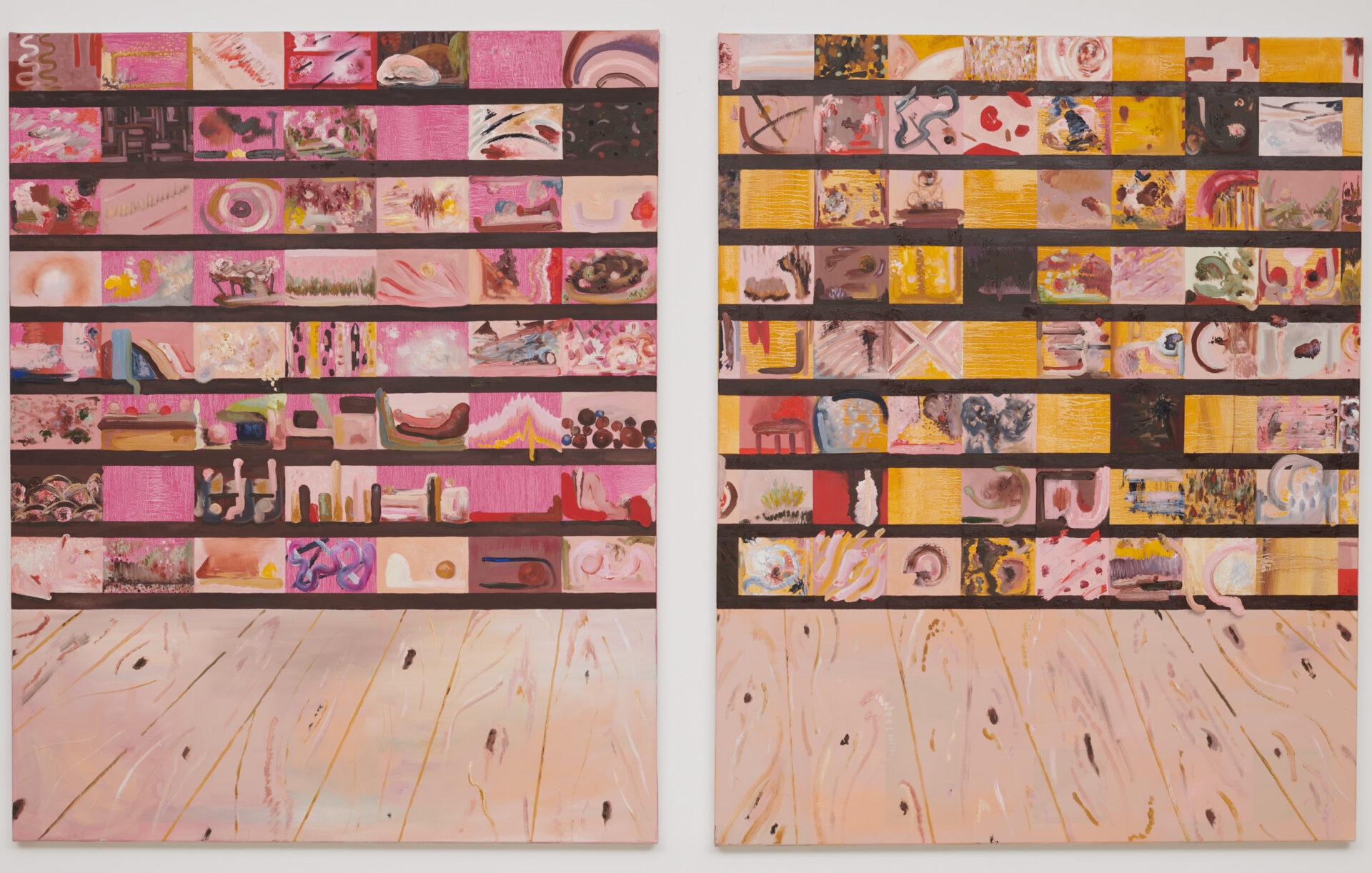 Paint Shelves