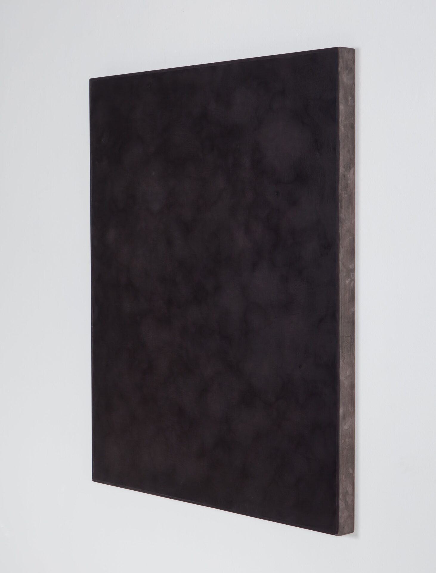 Untitled (dissolution) - side view